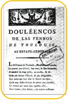 Cahier de Doléance-Thil