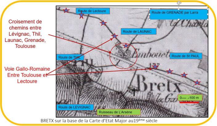Route de Lectoure-Bretx