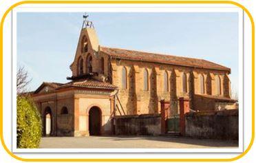 Maquette Eglise actuelle de Bretx
