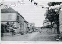Rue principale de Thil
