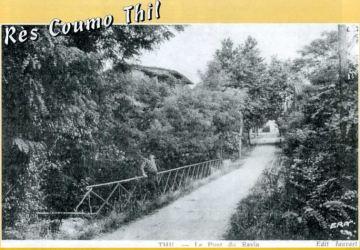 Le pont sur le ravin
