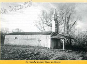 La chapelle Saint Orens