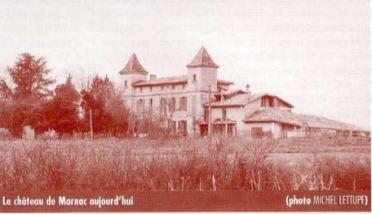Le château de Marnac à Thil