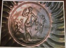 Plat en argent du trésor de Caubiac.