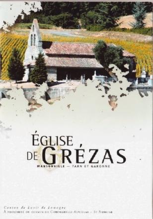 Concert dans l'église de Grézas.