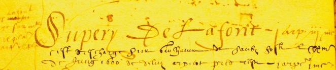 de Laffont ,livre terrier de 1515, Bretx-Thil