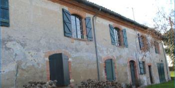 Maison de Laffont-façade arrière