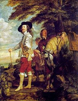 Charles Ier d'Angleterre par Van Dyck